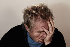 Create your anti-Inflammatory life - Part 1  Is this man holding his head in despair through his struggle for life while in a state of pain and inflammation?